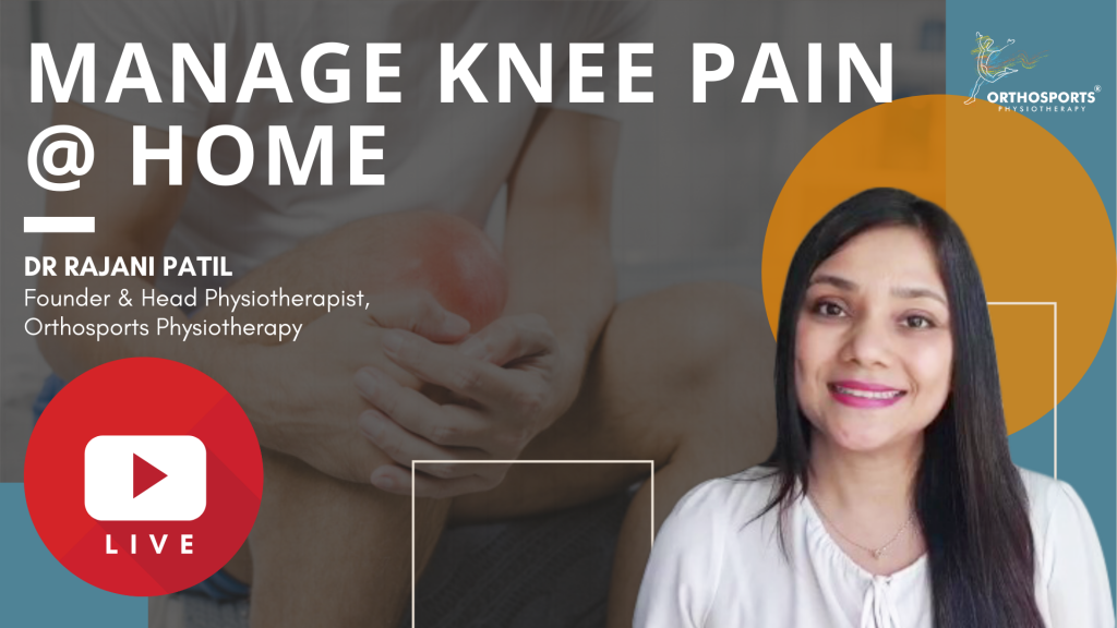 Manage Knee Pain at Home