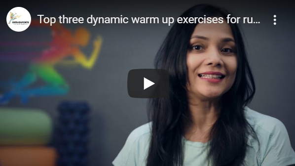 Top three dynamic warm up exercises for runners